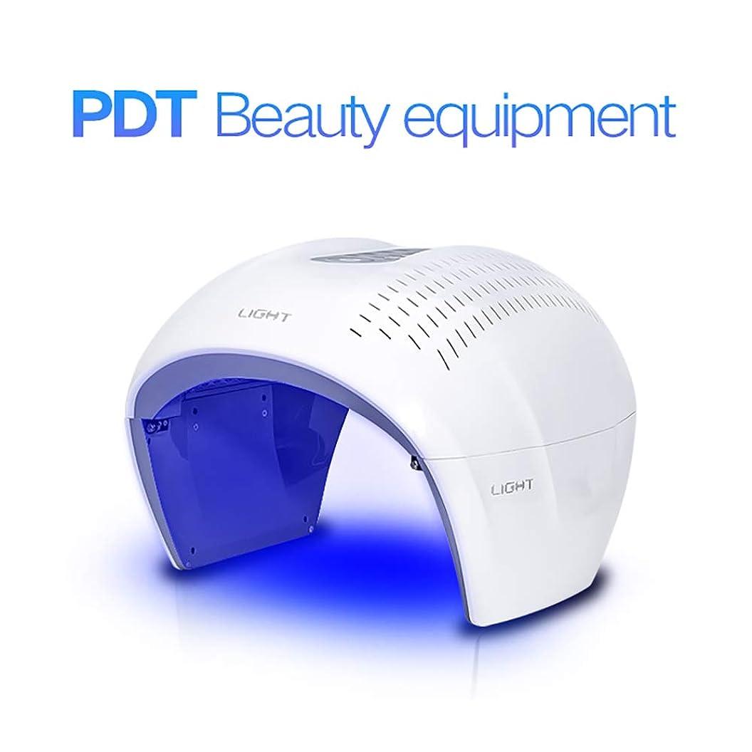 キラウエア山スイ家禽健康な肌の若返りのコラーゲン、反老化、4色LEDの美のスキンケアの光子療法機械のための表面光子の赤灯療法