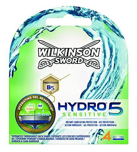 Wilkinson Sword Hydro 5 Sensitive - Recambio de Cuchillas de...