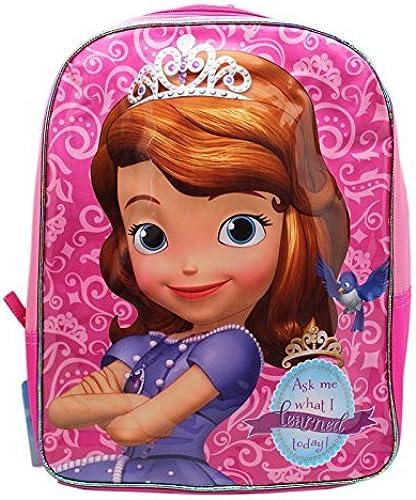 barato Disney Little Girls Girls Girls Princess Sofia 15.5-inch Kids Backpack by Disney  con 60% de descuento