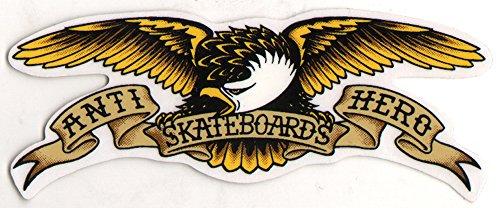 Antihero Eagle skateboard adesivo nuovo–ca. 13cm di larghezza e anti Hero skate Board SK8Skating