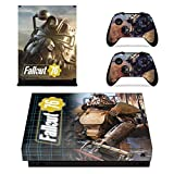 Fallout 76 Xbox One x Skin - Skin para consola (carcasa de controlador), diseño de Xbox One x