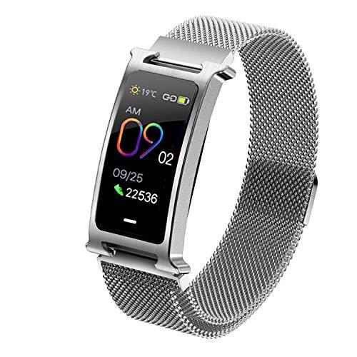 Veotopia Fitness Tracker Smart Watch - Blutdruck Herzfrequenzmesser Schrittzähler wasserdichte Uhr - Armband Aktivitäts-Tracker - Sport Armband Bluetooth