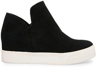 Women's Hidden Wedge Sneakers High Top Slip On Wedge...