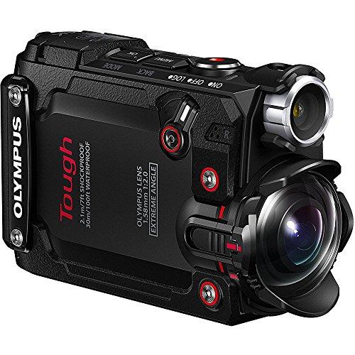 Olympus Stylus TG-Tracker 4K Action Cam Water/Shock/Freeze-proof Black (V104180BU000) - (Renewed)