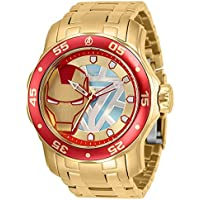 Invicta Marvel Limited Edition Stainless Steel Tony Stark Ironman Men's Dial Watch