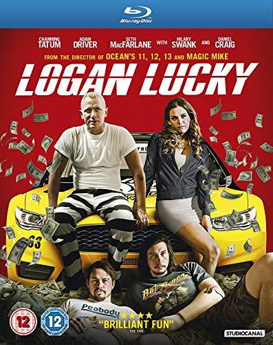 Logan Lucky [Edizione: Regno Unito] [Reino Unido] [Blu-ray]