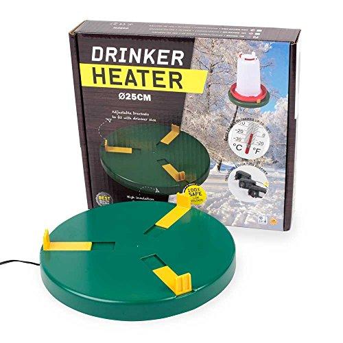 Tränkenwärner Durchmesser 25 cm 24 Volt 20 Watt Geflügel Hühner