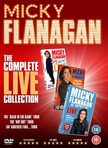 Micky Flanagan The Complete Live Collection (2017) [DVD] [Reino Unido]