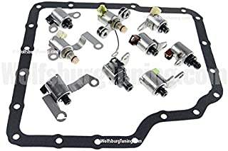 Wolfsburg Tuning Transmission Solenoid Set Tiptronic for 5 speed fits VW MK4 Golf GTI Jetta 1.8T VR6 TDI