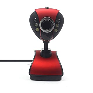 HD Webcam Telecamera USB Pc Camera Web Camera with Microphone Mic Led Webcamera for Computer Laptop