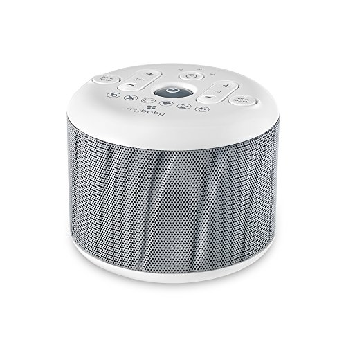 MyBaby, Deep Sleep SoundSpa White Noise Machine | 6 Sounds:...