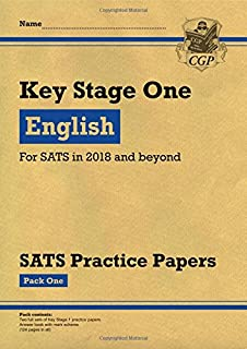 KS1 English SATS Practice Papers: Pack 1 (for the tests in 2018 and beyond)