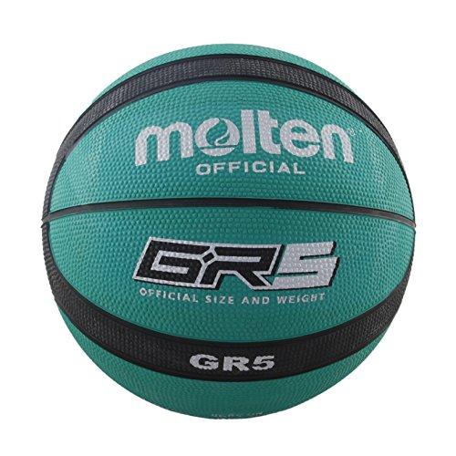 Molten BGRGK - Balon de Baloncesto de exhibición, Adulto, Verde y Negro, Talla 7