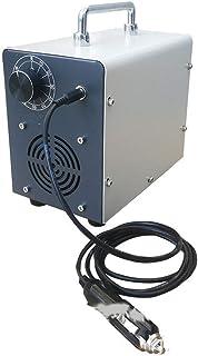 Car Industrial Ozone Generator, 12V 5G Air Purifier Ozone Air Disinfection Machine for Car Taxi School Bus Bus,White