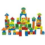 CUTICATE Bloques De Buliding del Número Y del Alfabeto del Niño EVA Foam Puzzle Developmental Baby Toy - 70pcs