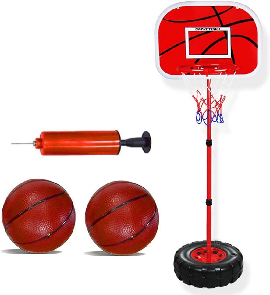 Basketball Hoop YXX- Tampa Superior Mall Big Kids 2 Balls with Sp Adjustable-Height