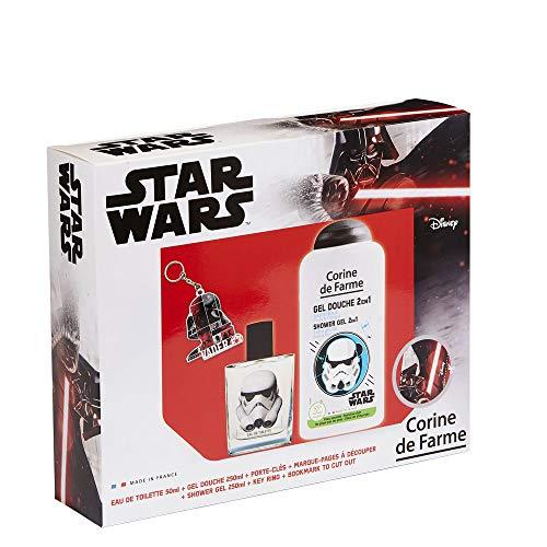 Corine de Farmme Disney Star Wars Set Eau de Toilette + Duschgel + Schlüsselanhänger 1 Stück