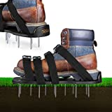 TACKLIFE Lawn Aerator Shoes, Aerating Lawn Soil Sandals with 4...