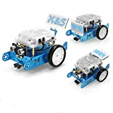 Makeblock mBot S Explorer Metal DIY Robot Kit, Interactive Coding Robot with LED Eyes, APP Remote Control, Learn Scratch and Arduino C Programming, Ideal Gift for Kids