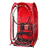 Under the Weather Red MyPod 1 Person Pop-up Weather Pod. The Original, Patented WeatherPod