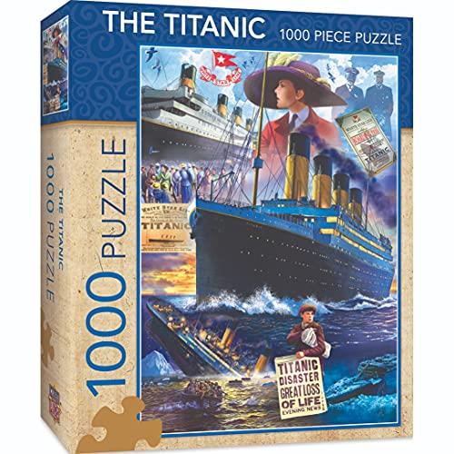 MasterPieces Titanic Collage - Puzzle (1000 piezas)