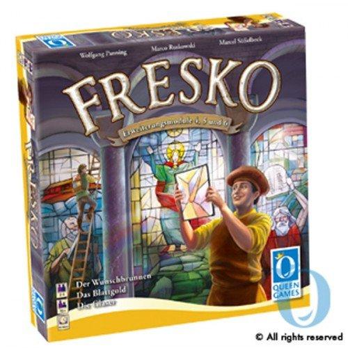 Queen Games 6081 - Fresko Erweiterung 1: Die Glaser, Brettspiel