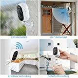 Zeetopin Überwachungskamera Aussen Akku 1080P - 5