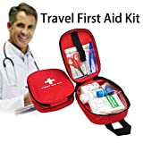Ballylelly 15 UNIDS/Set Tamaño Portátil Bolsa de Supervivencia de Emergencia Acampar Al Aire Libre Coche de Primeros Auxilios Bolsa de Primeros Auxilios Kit de Supervivencia Bolsa Médica