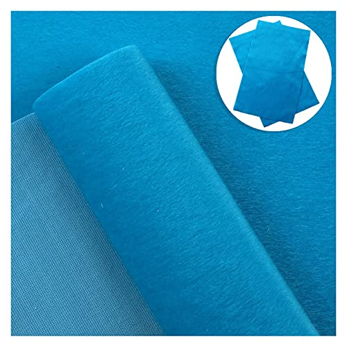 Ther Bow Making Fabric Solid Color Velvet Theme Fuzzy Fabric Sheets Soft to Touch 20x33cm for DIY Baby Girls Hair Bows Earrings Bags Pouches Shoes Leather Sheets for Crafting (Color : 1101602011)