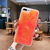 XLSJK Carcasa de Telefono Estuche Luminous Neon Sand para Samsung Galaxy S8 S9 S10 S10E e Plus Note8...