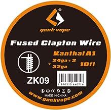 10feet Geekvape Vape Coil Wire Fused Clapton for RDA RTA RBA Atomizer Tank