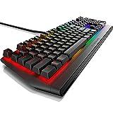 Dell Alienware RGBメカニカル ゲーミングキーボード CherryMX Brown 英語配列 AW410K ダークサイドオブザムーン 2年保証