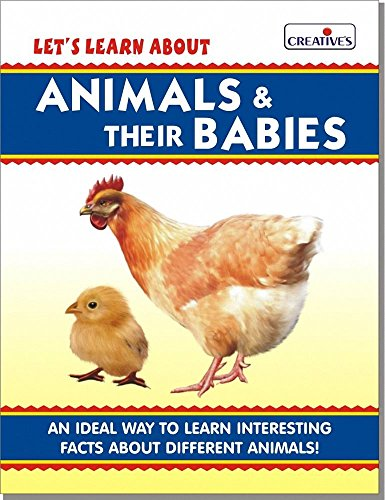 Creative Books - Let's Learn About- Animals & Their Babies (Board Book) - (CRE0536)