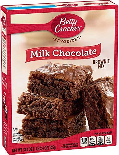 ミルクチョコレート ブラウニーミックス522g(*パッケージ多少凹みの為値下げしております。) Milk Chocolate Brownie MIX18.4OZ
