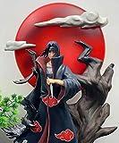 AMrjzr 1 Estilo-Naruto GK Shenwu Moon Reader Itachi Dios Estatua Modelo Figura en Caja-Altura: 32...