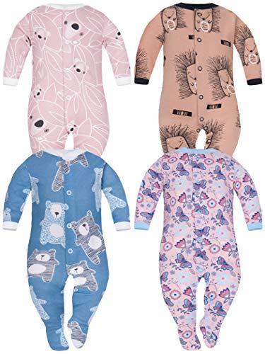 SIBINULO Nino Nina Pijama Bebé Pelele Algodón Pack