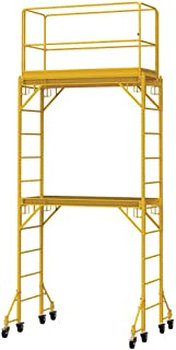 Metaltech Multipurpose Maxi Square Baker-Style Scaffold Tower Package - 12ft. 820-Lb. Capacity, Model Number I-TCISC