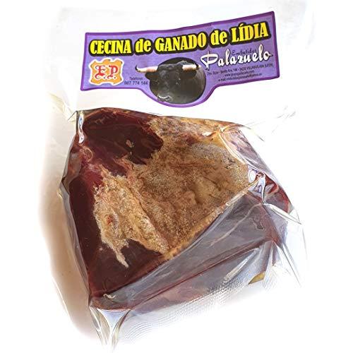 Cecina de Toro de Lídia en Taco 500g aprox. ENTREGA 24-72 HORAS.De Ganadería Propia. León. Palazuelo