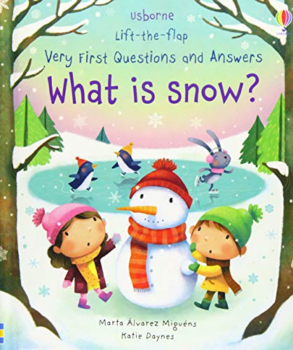 What is Snow? (Very First Lift-the-Flap Questions & Answers)