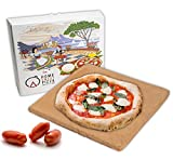 RPRRBE Pietra Refrattaria per Pizza da forni Domestici Mattone refrattario per Barbecue Biscotto refrattario per Forno Elettrico