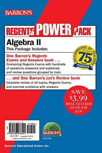 Algebra Ii Power Pack Regents Power Packs