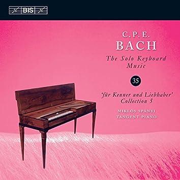C.P.E. Bach: The Solo Keyboard Music, Vol. 35