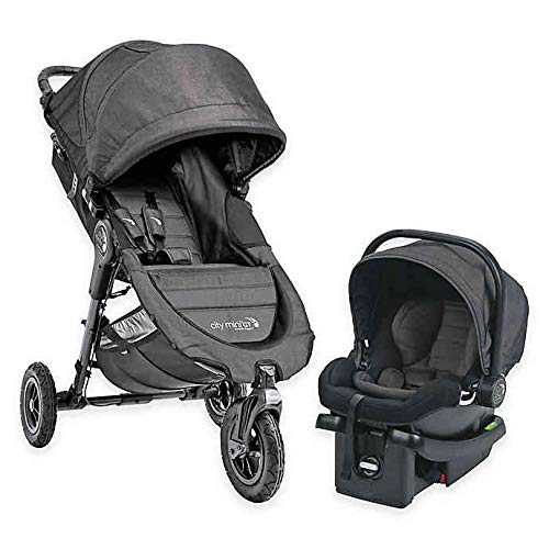 Baby Jogger City Mini GT Travel System, Charcoal