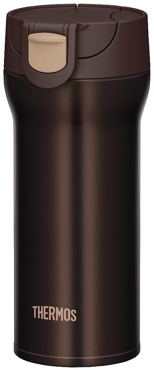 センチメンタル献身幸福サーモス 水筒 真空断熱ケータイタンブラー 【ワンタッチオープンタイプ】 360ml ブラウン JNM-360 BW