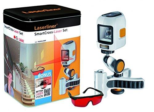 Laserliner Kreuzlinienlaser selbstnivellierend SmartCross-Laser Bonus Set Reichweite (max.): 10 m