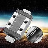 Carril lineal Carril deslizante lineal LML9B 4 puntos Preciso para equipos automáticos(40, 12)