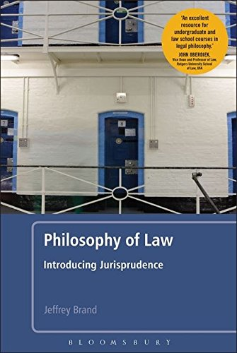 Compare Textbook Prices for Philosophy of Law: Introducing Jurisprudence  ISBN 9781441141897 by Brand, Jeffrey