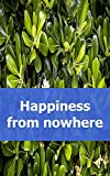 Happiness from nowhere (English Edition)