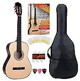 Classic Cantabile Acoustic Series AS-851-L guitarra clásica 3/4 set de inicio para zurdos