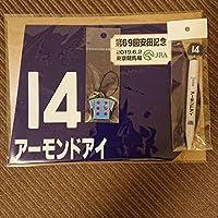 JRA 安田記念 競馬 アーモンドアイ グッズセット ミニゼッケン ストラップ ボールペン